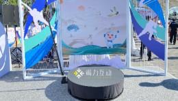 中国联通冬奥360度旋转自拍互动装置