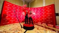 中国亿田经销商大会/360旋转升格拍照互动装置