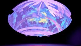新媒体数字艺术装置:「宇宙之瞳 Psychedelic Temple」