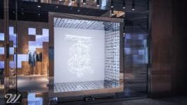 BURBERRY互动艺术橱窗