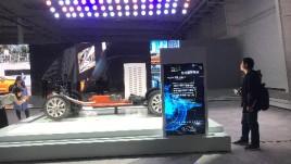65寸双滑轨屏—吉利汽车杭州湾基地