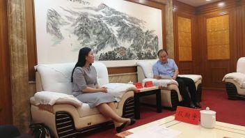 联盟副理事长唐春桥、秘书长李佳臻一行受邀考察衡阳市工业园区与高新区