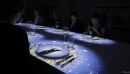用数字艺术打造沉浸式用餐体验