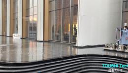投石科技案例:旭辉地产售楼处户外景观互动装置