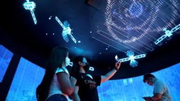 抢先目睹!2020年迪拜世博会中国馆试运营迎来首批观众