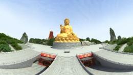 全景 VR 影片《佛教圣地》