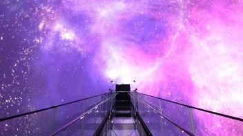 沉浸式空间 | 韩国首家360°球形穹幕投影剧院