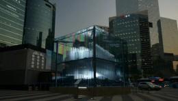 Brilliant Cube城市互动动态3D矩阵装置