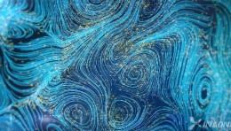 流体粒子 沉浸式展览 数字媒体艺术 全息地面互动投影