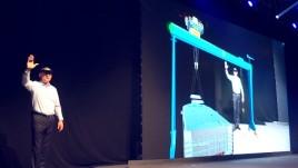 MR混合现实裸眼3D产品发布会