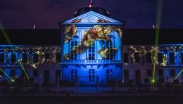 """彩色激光灯:介绍欧洲布拉迪斯拉发""""白色之夜""""的激光亮化项目"""