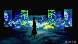 新媒体互动数字艺术:「觅象 Cerca Trova」
