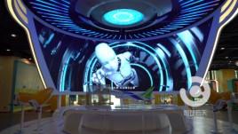 物理装置结合大屏交互展示:集视听盛宴与互动游戏于一体