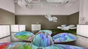 科技与艺术的融合 索尼携新品投影诠释光影艺术