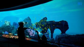 海底飞碟 - 沉浸式交互空间