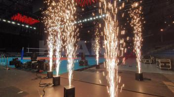 激光表演将成为2021男排欧锦赛开幕式一大亮点