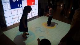 【珠江零度】-踩气泡地面互动