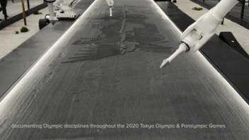 """东京一角的""""永恒""""画展,150张图画尽奥运健儿百态"""