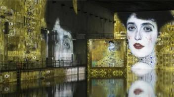 """全球规模最大沉浸式数字艺术展馆——""""光影流池"""""""