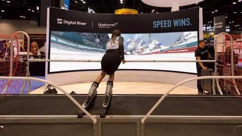 足不出户,体验极致的滑雪体验,德国SkyTechSport研
