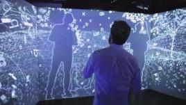 体感互动投影,2014年巴黎雷克斯俱乐部宝马特别之夜