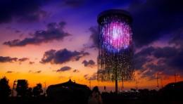 teamLab Crystal Fireworks