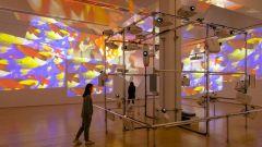 CAFA荐展 影像艺术与视觉禅意:美国西海岸首个白南准回顾展
