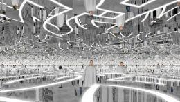 【创意分享】沉浸式体验艺术,在3000㎡的空间,体验互动装置的非凡乐趣
