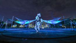 光影特色|上海苏州河长宁段景观照明设计