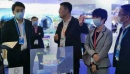 光子芯片透明屏引爆深圳展区,闪耀了2021上交会