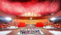 水晶石圆满完成庆祝中国共产党成立100周年文艺演出《伟大征程》服务保障任务