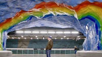 【ShinyArt视点】艺术介入城市空间——地铁站的艺术能量