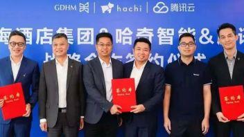 腾讯云、粤海酒店集团、哈奇智能达成战略协议,开启智慧酒店新篇章